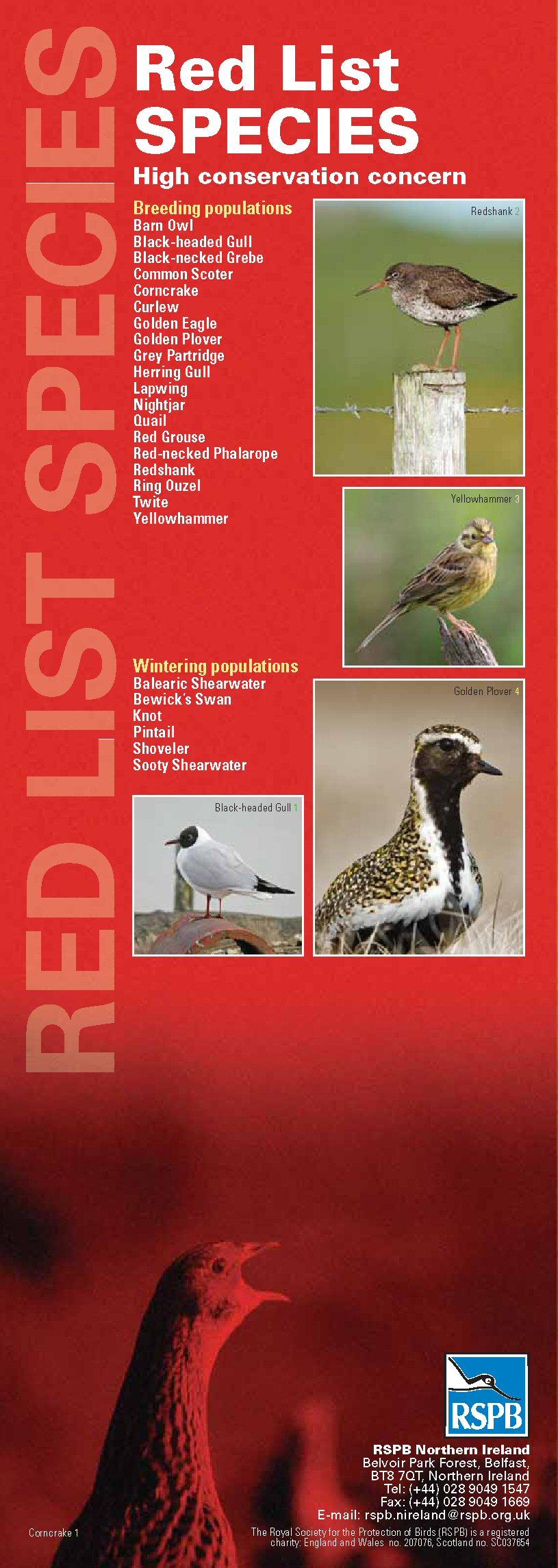 Lista Rossa delle Specie a