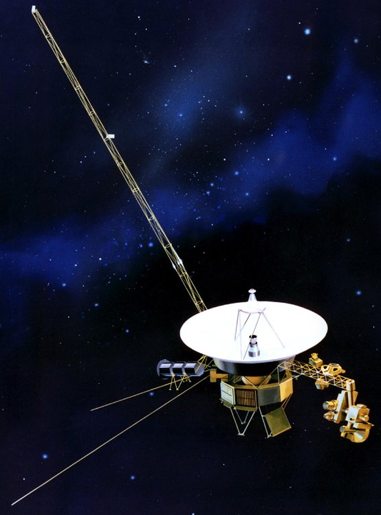space probe voyager - 554×750
